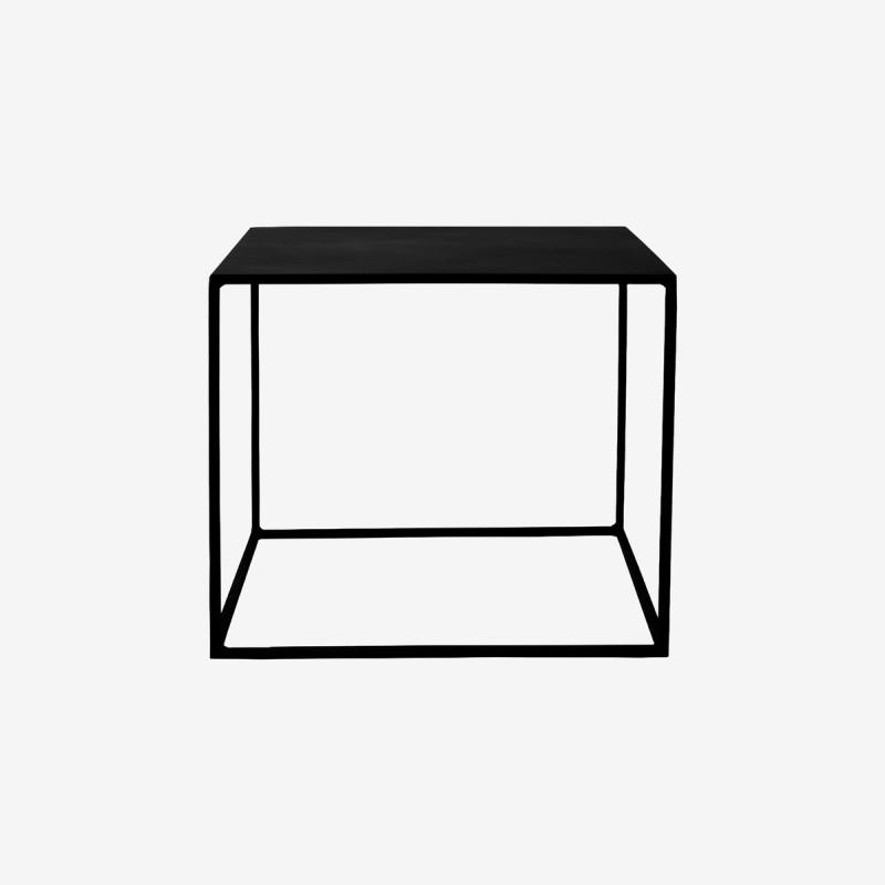 Vue de face de la table basse EXPO