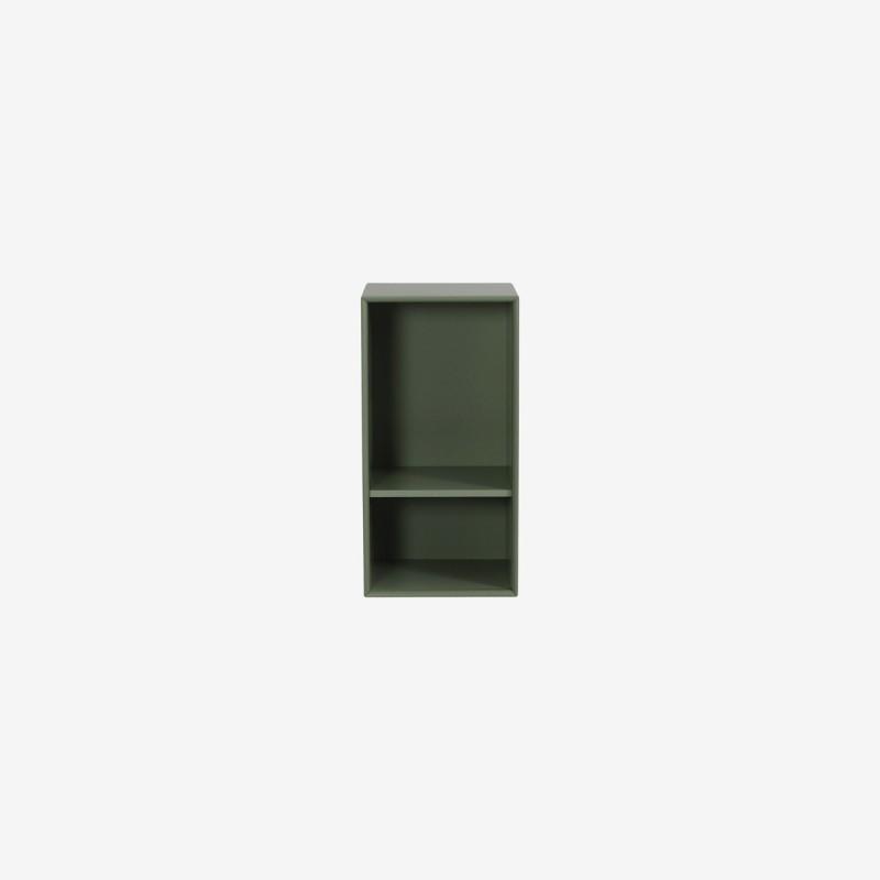 Vue de face du 1/2 cube Z