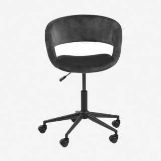 Vue de face du fauteuil de bureau ATRONE vert
