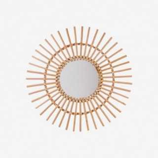 Vue de face du miroir SOLEIL
