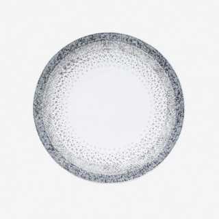 Vue de face d'une assiette plate ISLAND